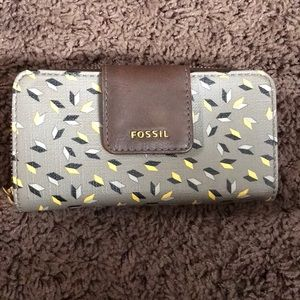 Fossil wallet {used once}